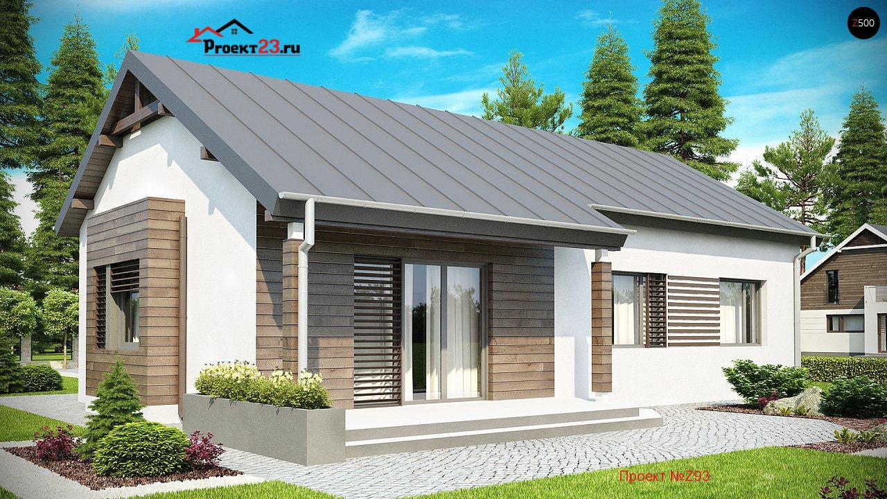 Дизайн фасадов одноэтажного дома